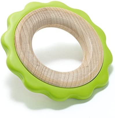 BeginAgain Green Keys Teether, 3-pc - Soothing Comfort While Promoting Fine Motor Skills - 6 Months+