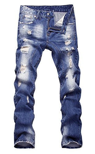 Faded Blue Jeans - 1