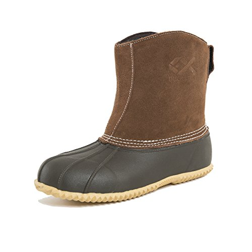Duck and Fish Women's 200G Thinsulate Pull On Winter Duck Boots (7 US) Women Fish