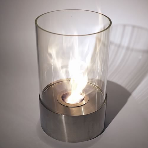 Nu-Flame (NF-T1ACA) Accenda Ethanol Tabletop Glass Bio Fireplace