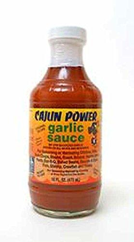 Cajun Power Garlic Sauce Original Recipe, 16 Oz (Pack of 2) - Cajun Sauce Recipes