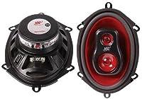 5 X 7 Three Way Car Speaker Pair - 4 ohm / 100W Peak