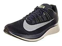 Take your run to all new heights with the Nike Zoom Fly. With a dual-density foam midsole, this versatile shoe provides mild support from overpronation, with enough cushioning for daily training or speedwork..