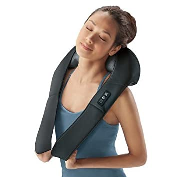 Image result for Brook stone Shiatsu Neck and Back Massager