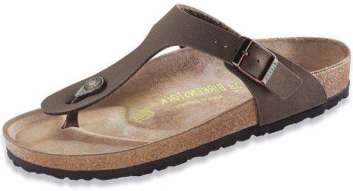 Birkenstock Women's GIzeh Thong Sandal, Mocha, 39 M EU/8-8.5 B(M) US (Birkenstock Sandals Womens Brown)