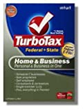 Office Products : 2008 TurboTax Home & Business Federal + State + 5 Efiles Intuit Turbo Tax