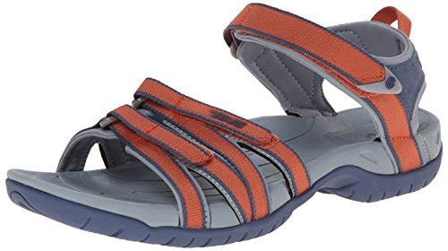 Teva Damen Tirra Athletic Sandale Terra Cotta