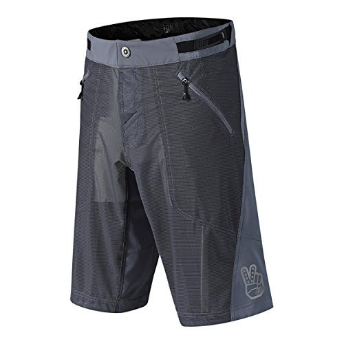 (Troy Lee Designs Skyline Air Mountain Bike Shorts with Liner - Black 34)