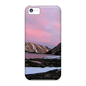 MMZ DIY PHONE CASETpu Shockproof/dirt-proof Lscape South America Cover Case For Iphone(5c)