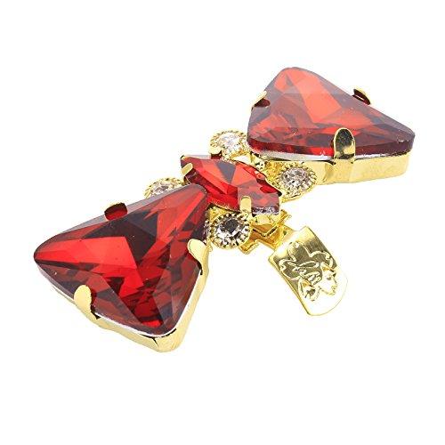 Decorazione Colorati Come Strass Santfe Decorativi Red Fermagli A Con Clip Scarpe Aggancio Adatti Matrimonio Per xBnBfUw7q