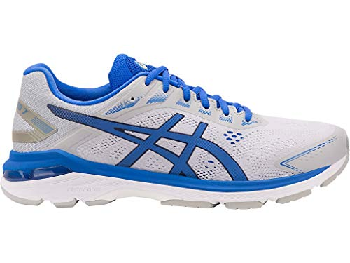 ASICS Men's GT-2000 7 Lite-Show Running Shoes, 12M, MID Grey/Illusion Blue (Asics London)