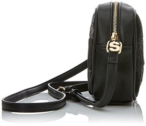 noir Negro Noir charlotte sac 17waxpjm patch Desigual snake afxPAqwCC