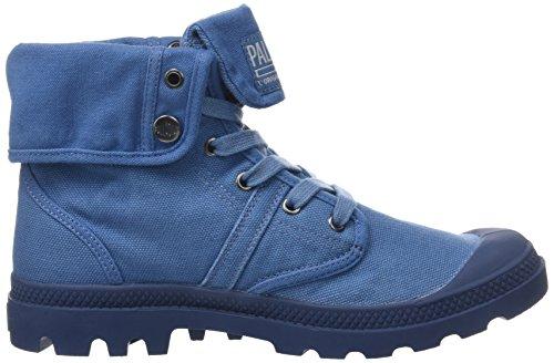 Palladium Men's Pallabrousse Baggy Homme Hi-Top Trainers, Grey Blue (Capitain Blue/Capitain Bl K80)