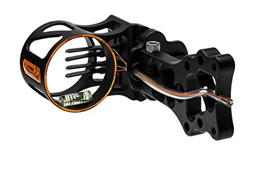 Viper Archery Venom V500 4 Pin Compound Bow Sight - Pin Size .019 - Made in USA