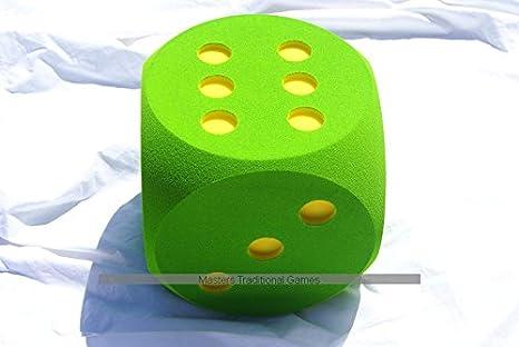 Masters Dado de Espuma Gigante de 30cm - Verde: Amazon.es: Juguetes y juegos