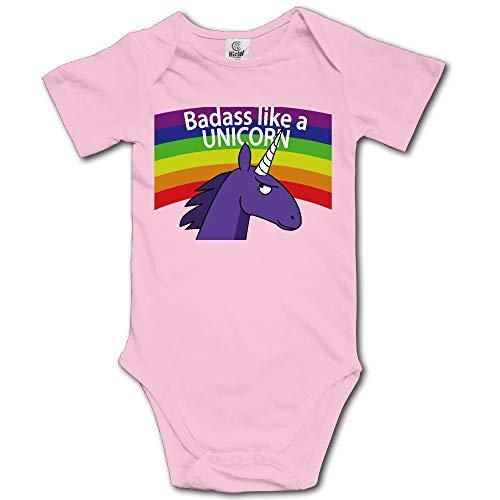 Animal Ark Baby Quilt - Kmeiqufan Badass Like A Unicorn Bodysuits Clothing Kids Boys Girls