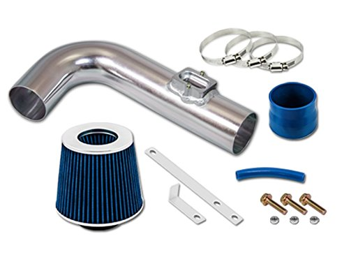 R&L racing Blue Short Ram Air INTAKE System + DRY AIR FILTER Kit For CHEVROLET 11-15 Cruze 1.4L Turbo / 12-15 Sonic 1.4L Turbo