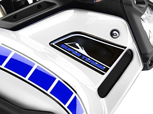 Adh/ésifs 3D Protection Capots Lat/éraux Compatible avec Yamaha Super Tenere Viper Blue