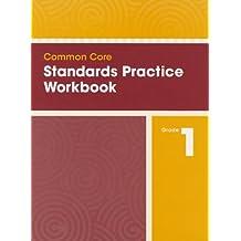 COMMON CORE STANDARDS PRACTICE WORKBOOK GRADE 1