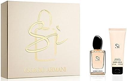 Giorgio Armani SI para mujer. Set (Eau de Perfume Vaporizador 30 ...