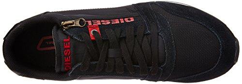 Diesel Slocker S Y00938 P0069 T5644 - Zapatilla hombre, negro Negro
