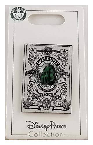 Disney Pin - Haunted Mansion Tarot Card Poster