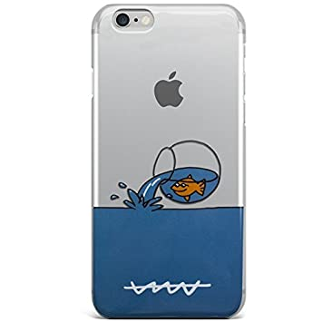 PHONELAND Carcasa Funda iPhone 7 / iPhone 8 Licencia Callate La Boca Pecera: Amazon.es: Electrónica