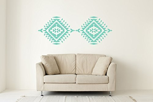 Southwestern Decor, Navajo Wall Decal, Geometric Wall Decal, Native  American Decor, Navajo