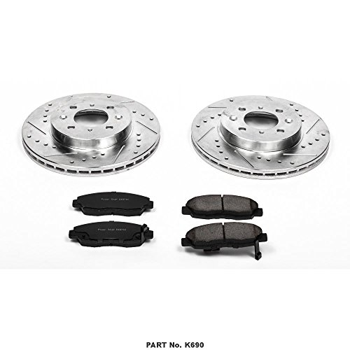 Power Stop K690 Front Z23 Evolution Brake Kit with for sale  Delivered anywhere in USA