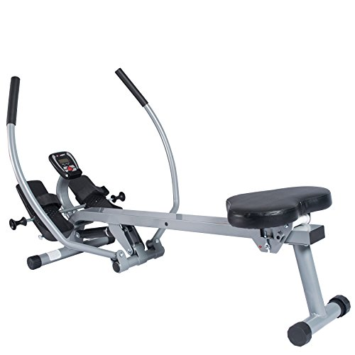 EFITMENT Total Motion Rowing Machine Rower with Full Arm Extensions, 350 lb Weight Capacity - RW032 by EFITMENT