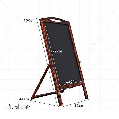 LIANGJUN Message Board Chalkboards Retro Type A Floor-Standing Bracket Type Sketchpad Advertising Board Publicity Board Cafe Flower Shop (Color : A, Size : 52X44X100CM) by LIANGJUN-lyj (Image #2)