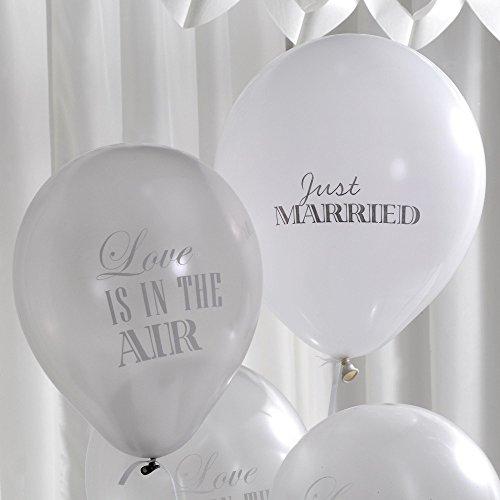 Luftballons mit der Aufschrift