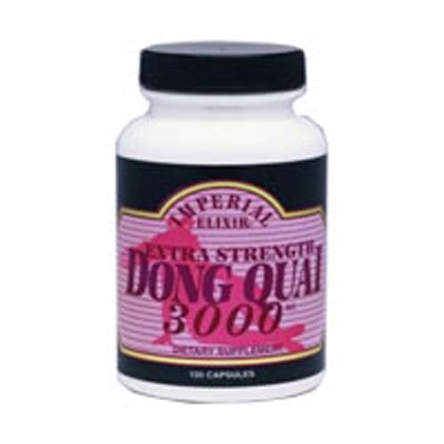 Dong Quai 3000, 120 Caps by Imperial Elixir / Ginseng Company (Pack of 3)