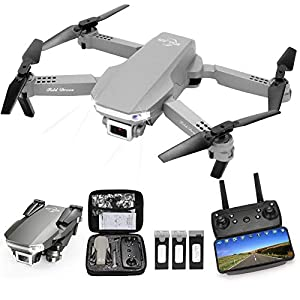 Flashandfocus.com 41mofr0VGnL._SS300_ MSLAN M300 RC Drone Kids with 1080P Live Video, Tap Fly,Altitude Hold, Headless Mode,3 Speed Mode, Gravity Sensor…