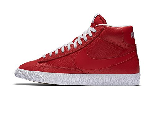 NIKE 429988-604 Men Blazer Mid PRM Game Red White P25IXxwWsN