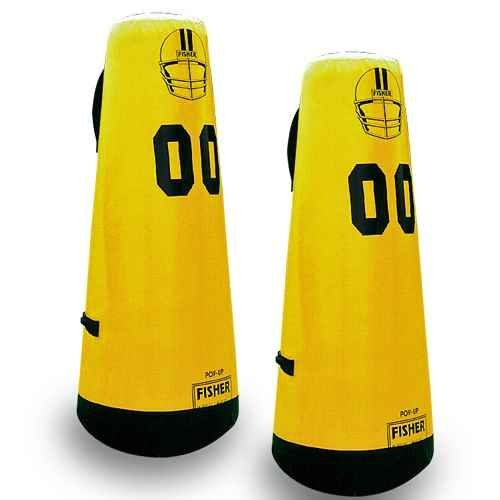 Sports Practice Dummy - Pop-Up Vinyl with Rubber Base (60 in. x 24 in.)