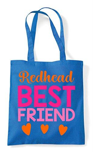 Bag Matching Friends Bff Redhead Shopper Tote Friend Best Sapphire Statement 4xa0px