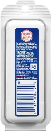 Band-Aid Brand Adhesive Bandages, Flexible Fabric Travel Pack, 8 Count (Pack of 12)