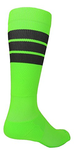 3 Stripe Elite Over the Calf Socks- Basketball Football Baseball Softball Soccer