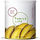 Thrive Life: Freeze Dried Banana Slices - Pantry Can Size