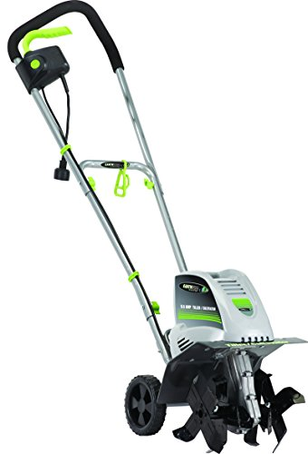 Earthwise TC70001 Electric Corded Tiller, 11-Inch, 8.5-Amp, Grey