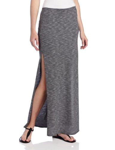 O'Neill Juniors Jax Maxi Skirt, Smoked Pearl, Medium - Oneill Cotton Skirt