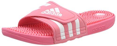adidas Adissage, Chaussures de Plage & Piscine Femme, Rose (Chalk Pink S18/ftwr Wht/chalk Pink S18)
