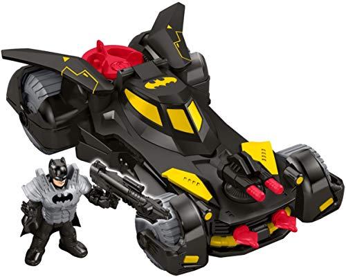 Imaginext FGC31 Dc Super Friends Legends of Batman Deluxe Batmobile, -