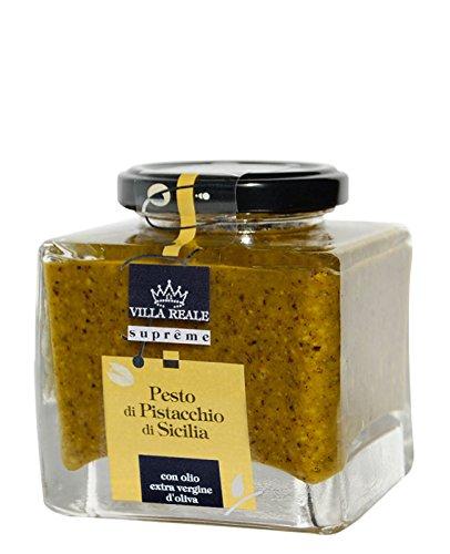 Villa Reale Sicilian Pistachio Pesto Green Pesto Pasta