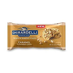 Ghirardelli Caramel Flavored Baking Chips | 10 oz. | Baking & Desserts