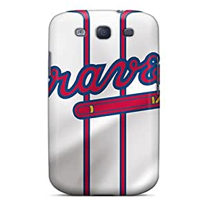 Excellent Hard Phone Cover For Samsung Galaxy S3 (Mxe19004BenI) Support Personal Customs Fashion Atlanta Braves Pictures