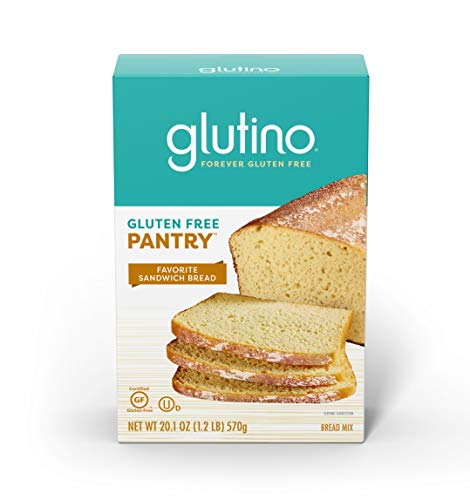 Glutino Gluten Free Pantry, Favorite Sandwich Bread Mix, Bake Delicious Bread at Home, 20.1 Ounce