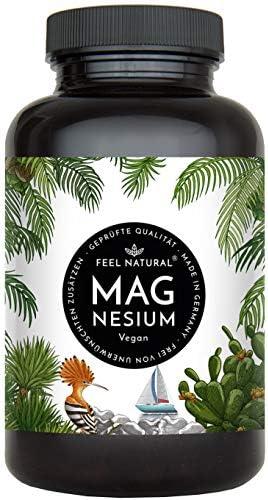 [Gesponsert]Magnesium Kapseln - 365 Stück (1 Jahr). 664mg je Kapsel, davon 400mg ELEMENTARES (reines) Magnesium - höherer...