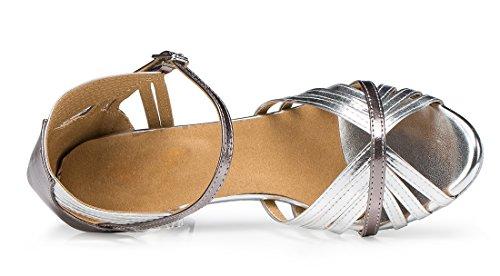 TDA - Zapatos con tacón mujer 7.5cm Heel Silver